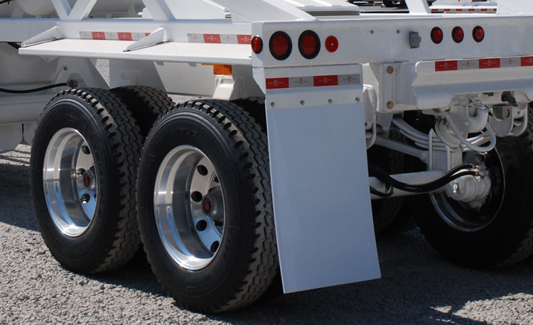 2-Axle Bottom Dump Ranco Trailer Tires