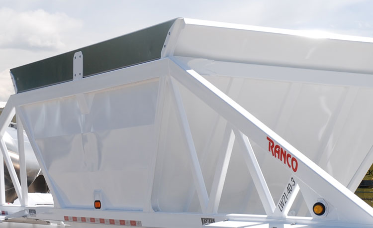 2-Axle & 3-Axle Ranco Bottom Dump Trailers