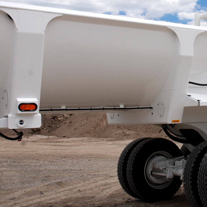 Thick Walled Ranco End Dump Trailer