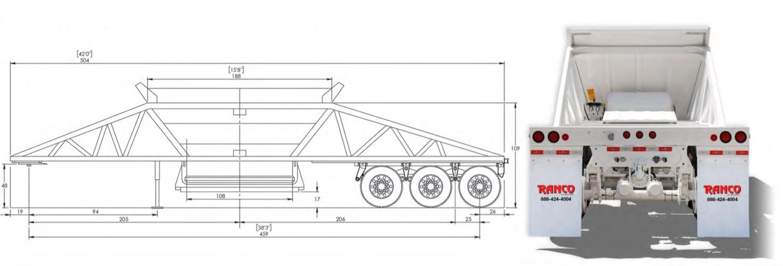 Ranco_LW21-40-3_3-Axle_Bottom_Dump 2