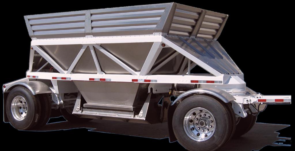 Ranco Aluminum Mini Bottom Dump Trailer 2