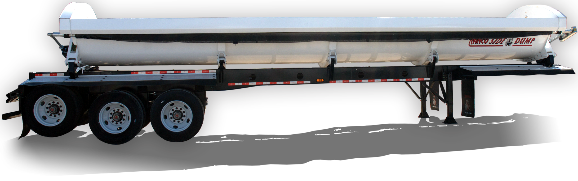 Ranco SD22-42-3 3-Axle Side Dump Trailer