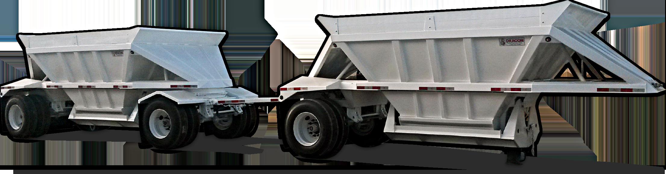 Ranco Steel Mini Bottom Dump Trailer
