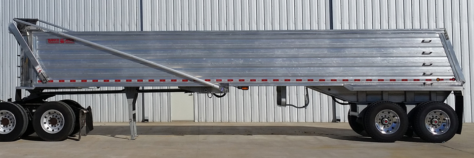 Vantage RANCO Standard Aluminum End Dump Trailer